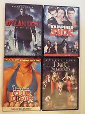 4 DVD-Dylan Dog:Dead of Night,Club Dread,Vampires Suck,Dark Shadows-horror-comed