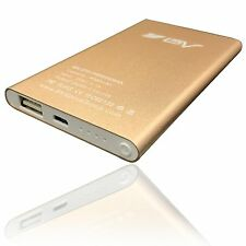 BV 4000mAh Power Bank Portable Battery Adaptor Charger USB Cable Headlight Bonus