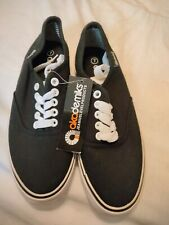 New listing New Akademiks BLACK ZACK CANVAS SNEAKERS TENNIS SHOES LACE UP SKATER MEN SZ 7