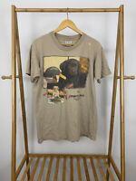 VTG Cute Labrador Puppies Sports a Field Single Stitch T-Shirt Size L