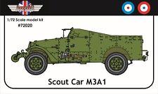 1/72 AGB-WW2 M3A1 Bianco alleate Scout FURGONI blindati-non ESCI/italery-kit modello