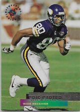 1995 Stadium Club #340 Cris Carter Minnesota Vikings HOF Ohio State Buckeyes