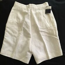 Women's Como Sport Shorts NWT Size 2 White Made In Italy