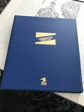 1999 - 2000 USPS Commemorative Stamp Club Album 32 Pages & 188 33 Cent Stamps