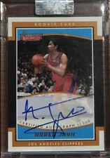 Marko Jaric 2002-2003 Bowman Signature Rookie Autograph AUTO RC #/999 *CLIPPERS*