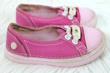 Crocs Hover Metallic Skimmer Shoes size C10 Girls 10 Pink Bubblegum Boat Sneaker