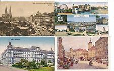 4 Karten aus Wien    (D3)