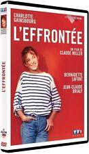 DVD *** L'EFFRONTEE *** avec Charlotte Gainsbourg  ( neuf sous blister )