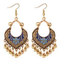 Women Ethnic Bohemian Vintage Boho Ear Hook Drop Dangle Earrings Jewelry