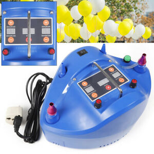 Pompe à ballon électrique Quantitatif 1200W Ventilateur d'air de gonfleur 4 buse