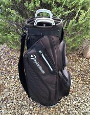 TaylorMade Cart Golf Bag, Grey and Black - 14 Way Top