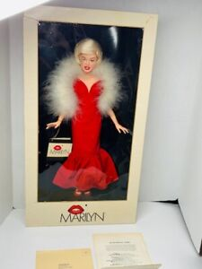 Rare World Doll Vintage 1983 Marilyn Monroe 71890 Doll Celebrity Series w COA