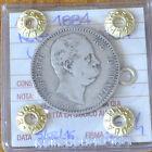 REGNO D' ITALIA UMBERTO I 1884 2 LIRE sigillata qBB NUMISMATICA SUBALPINA