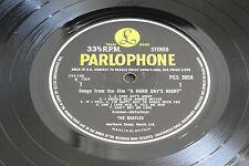 BEATLES - 'A HARD DAY'S NIGHT' 1966 UK Original  PCS-3058 STEREO  LP. EX ! RARE!