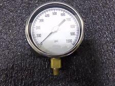 "11A496 4-1/2"" Process Pressure Gauge, 0 to 1000 psi (TJ)"