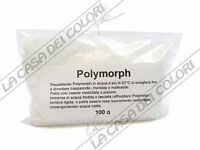POLYMORPH - 100 g - BIANCO - PLASTICA TERMOPLASMABILE - PLASTICA MODELLABILE