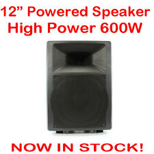 MaxAV 12 Inch Powered Audio Speaker PA Cabinet Box Active DJ Stage Monitor 12""