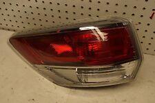 2014 2015 Toyota Highlander Left Driver Side Tail Light OEM USED