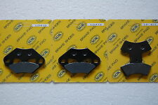 FRONT&REAR BRAKE PADS for POLARIS 99 00 01 Diesel 455 4X4 Magnum 325 500 2X4 4X4