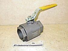 """Jomar   2"""" npt    ball valve   1000 psi WOG   T-CS-1001N-SS  listed 99S9"""