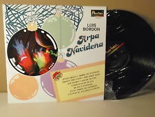 "Luis Bordon "" Arpa Navideña "" Jingle bells "" Arbol de navidad "" LP EX"