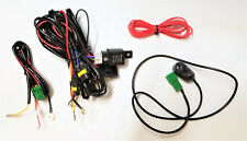 Fog Light Lamp Wiring harness Kit wire relay for H11 bulb with universal Switch