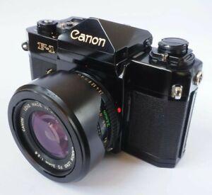 Canon F-1n + Late Version FD 24mm f2.8 Lens + Canon Case