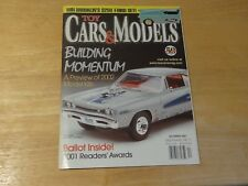 Toy Cars & Models Magazine #45 December 2001 Building Momentum A Preview of 2002