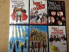 NEW TV DVD * HOW I MET YOUR MOTHER SEASONS 1 2 3 4 5 & 6 *