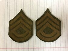 1902- WWI Reproduction Battalion Sargent Major Chevrons