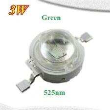 3 Watt Led Chip 700mA 520nm 525nm Grün 3W Grow Epistar HighPower 3,4V 3,6V