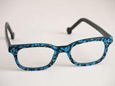 LA Eyeworks Eyeglasses COMO 732M Frames Thick Black & Blue  L.A.E 96 MINTY!