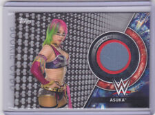 2018 Topps WWE Women's Division Asuka /50 Mat Relic Royal Rumble