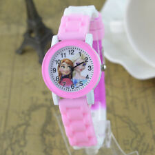 Disney Frozen Elsa & Anna Children Girls Kids Child Quartz Pink Wrist Watch Gift