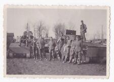 Original Foto Beutepanzer Spähwagen für die Schiene