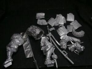 90mm white metal kit. samurai warrior with pike