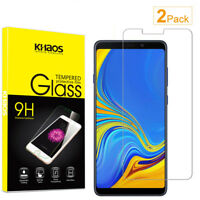 2-Pack Khaos For Samsung Galaxy A9 2018 Tempered Glass Screen Protector