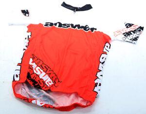 Answer XC Short Sleeve Jersey Red/White MTB Mt Borah NEW