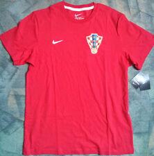 90e074a494c CROATIA Nike SHIRT Trikot Soccer Jersey Official Red HNS S Small