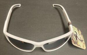 Panama Jack Sunglasses White Plastic Reflective 100% UVA UVB