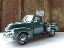 Danbury Mint 1953 Chevy 3100 Pickup Truck 1:24 Scale Chevrolet Die Cast Green