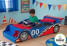 Kidkraft Racing Car Toddler Bed, Kids Wooden Toddler bed Cot bed sized