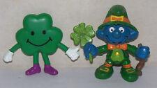 Good Luck Leprechaun Smurf St. Patricks Day Irish 1982 VTG Portugal Clover Dude