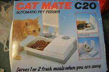 Cat Mate C20 Automatic Pet Feeder For Cats Or Small Dogs New In Open Box