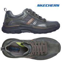 Skechers Mens Expended-Manden Walking Hiking Air Cooled Memory Foam Trainers