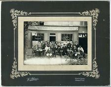 photo café restaurant La Varenne - St Hilaire - Bière de l'Espérance 1920G.