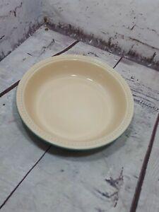 Le Creuset stoneware round pie dish, un-used.  Teal