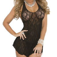 New Fashion Ladies Sexy Lingerie Women s Lace Halter Mini Dress Free Shipping