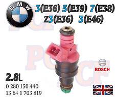 Original Gasolina Inyector De Combustible Bmw Serie 3 Z3 5 7 E36 E38 E39 E46 13641703819 0280150440