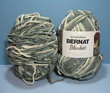 New Listing2 Bernat Blanket Yarn 10.5 oz Skein in Silver Steel
